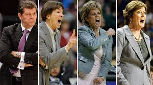 Ladies Basketball Coach Icons